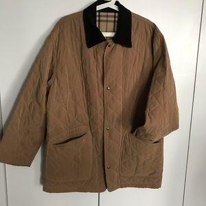 Burberry London Men's quilted coat